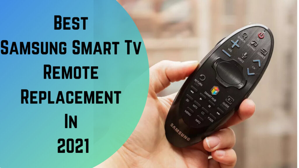samsung smart tv remote replacement
